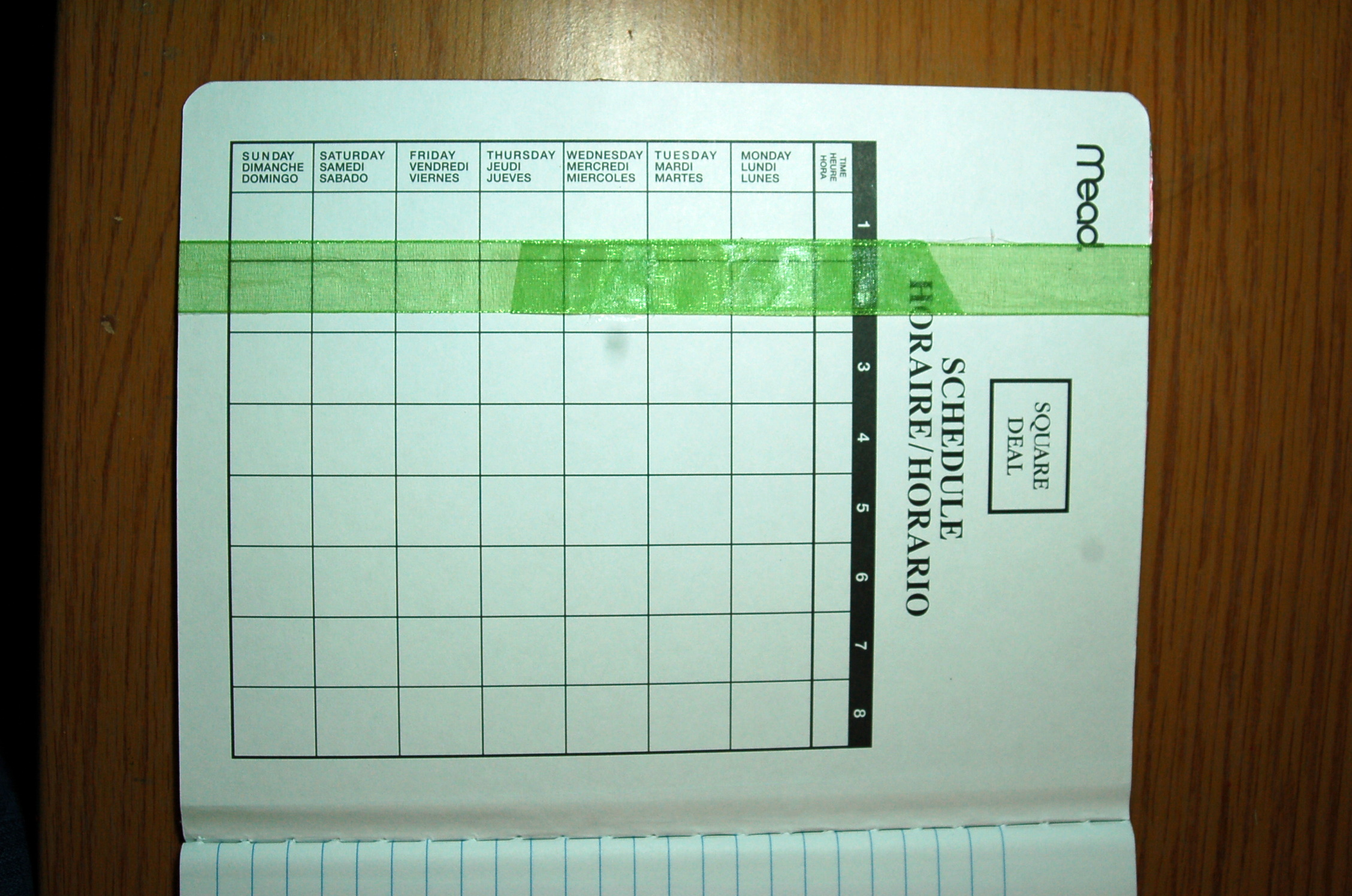 Setting Goals Backwards Journal - Pink Polka Dot Creations