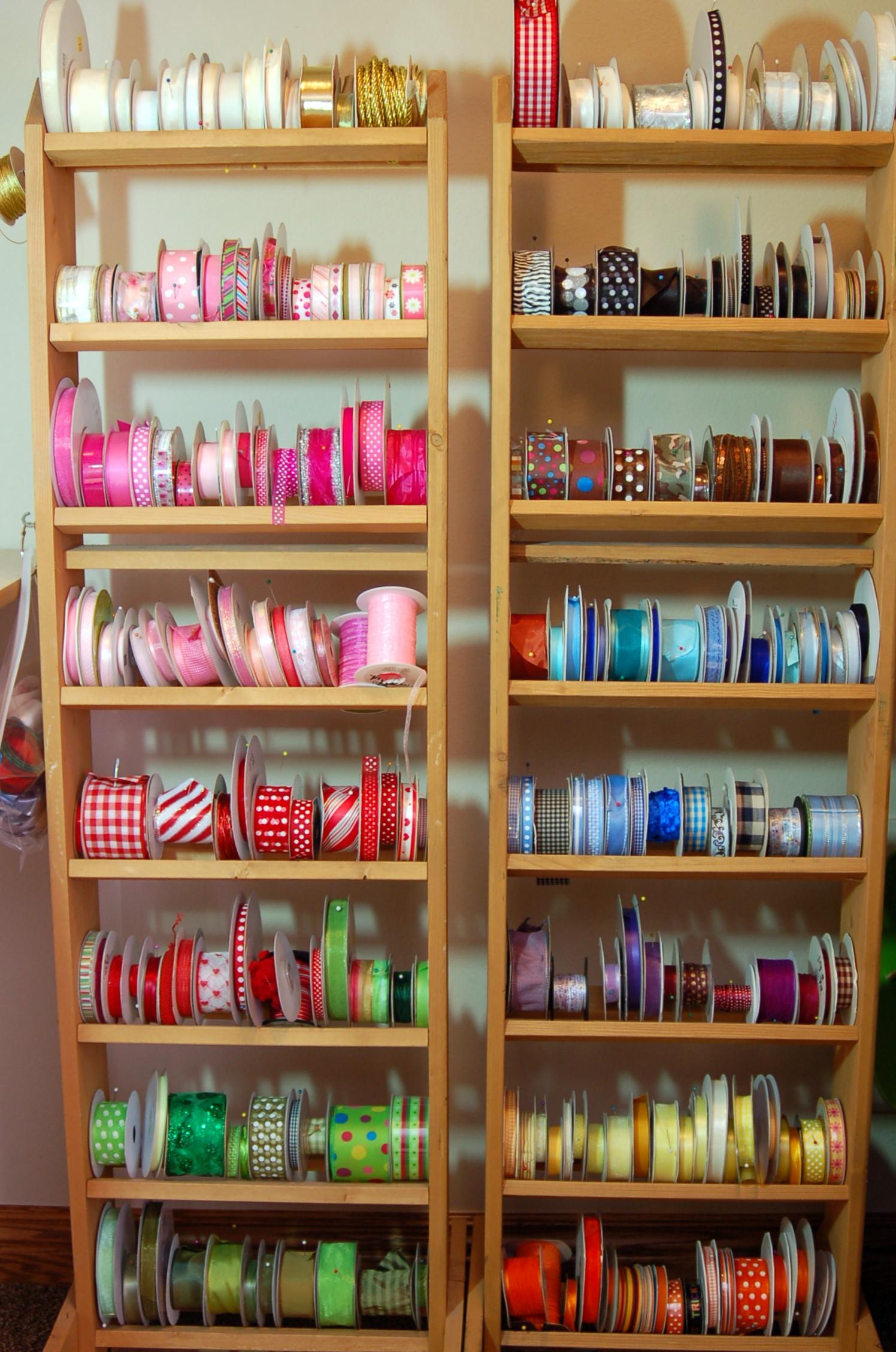 Ribbon Rack Archives Pink Polka Dot Creations