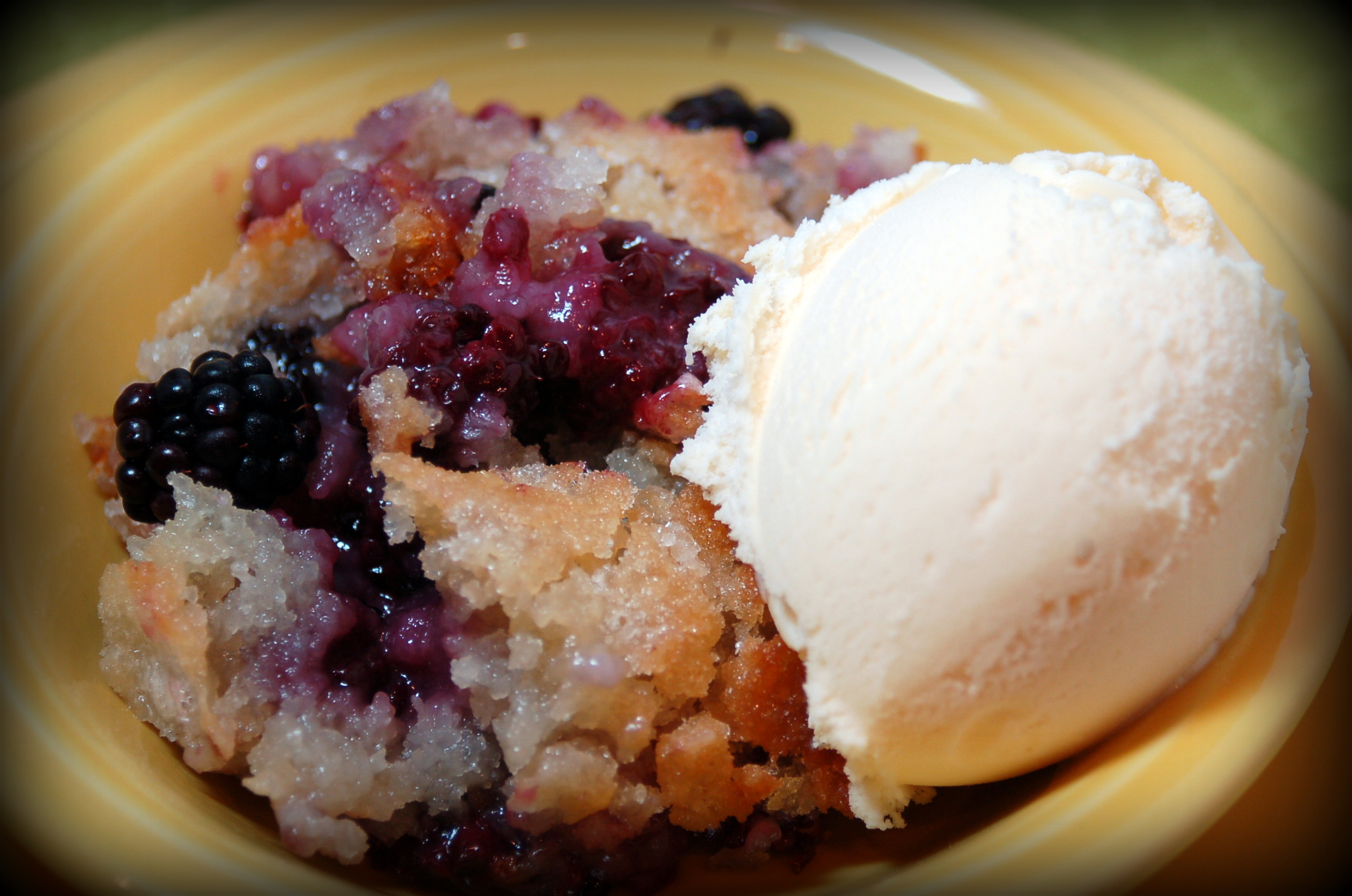 Blackberry Cobbler - Pink Polka Dot Creations