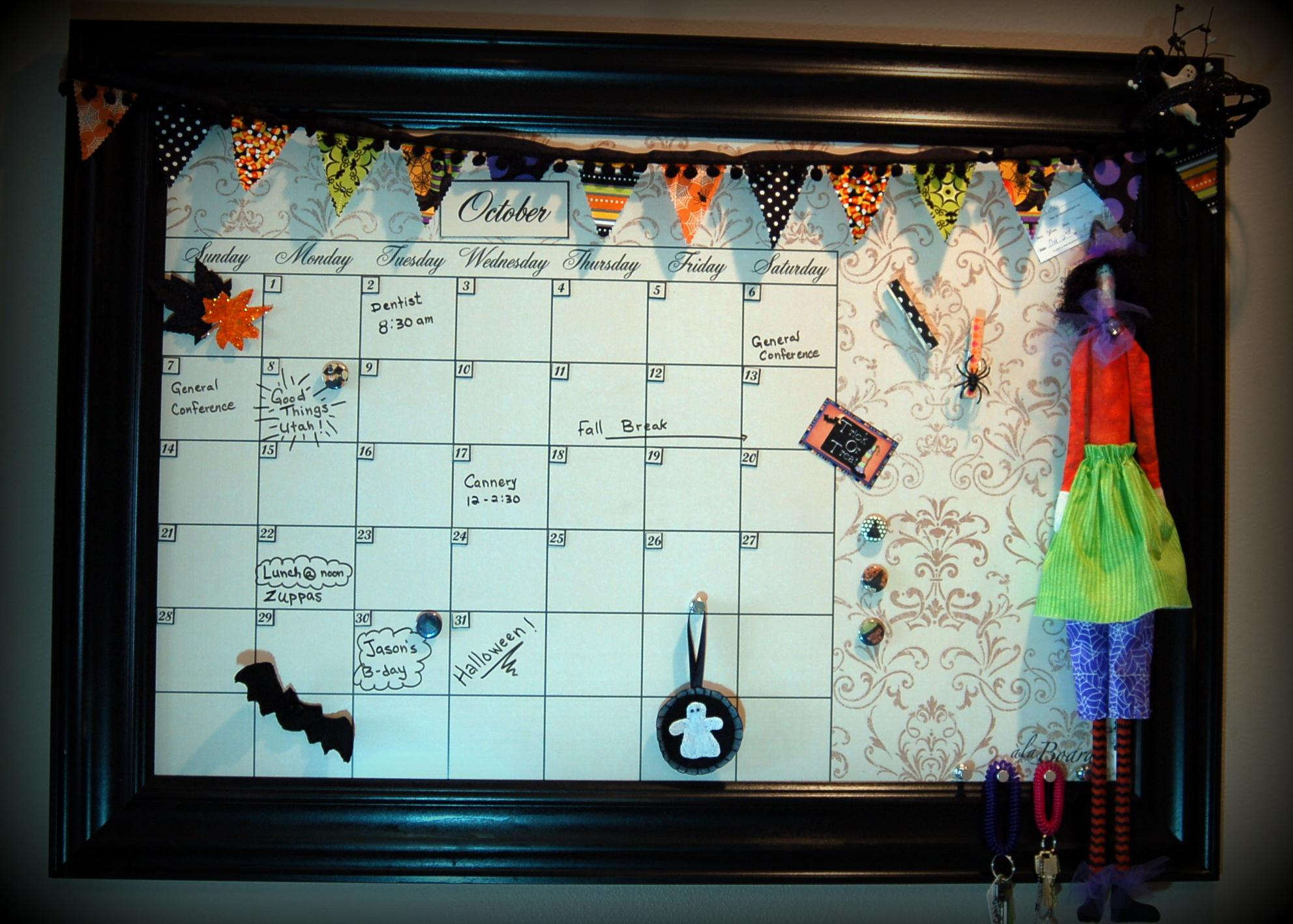 Oct calendar decorations Archives  Pink Polka Dot Creations - October Decorations