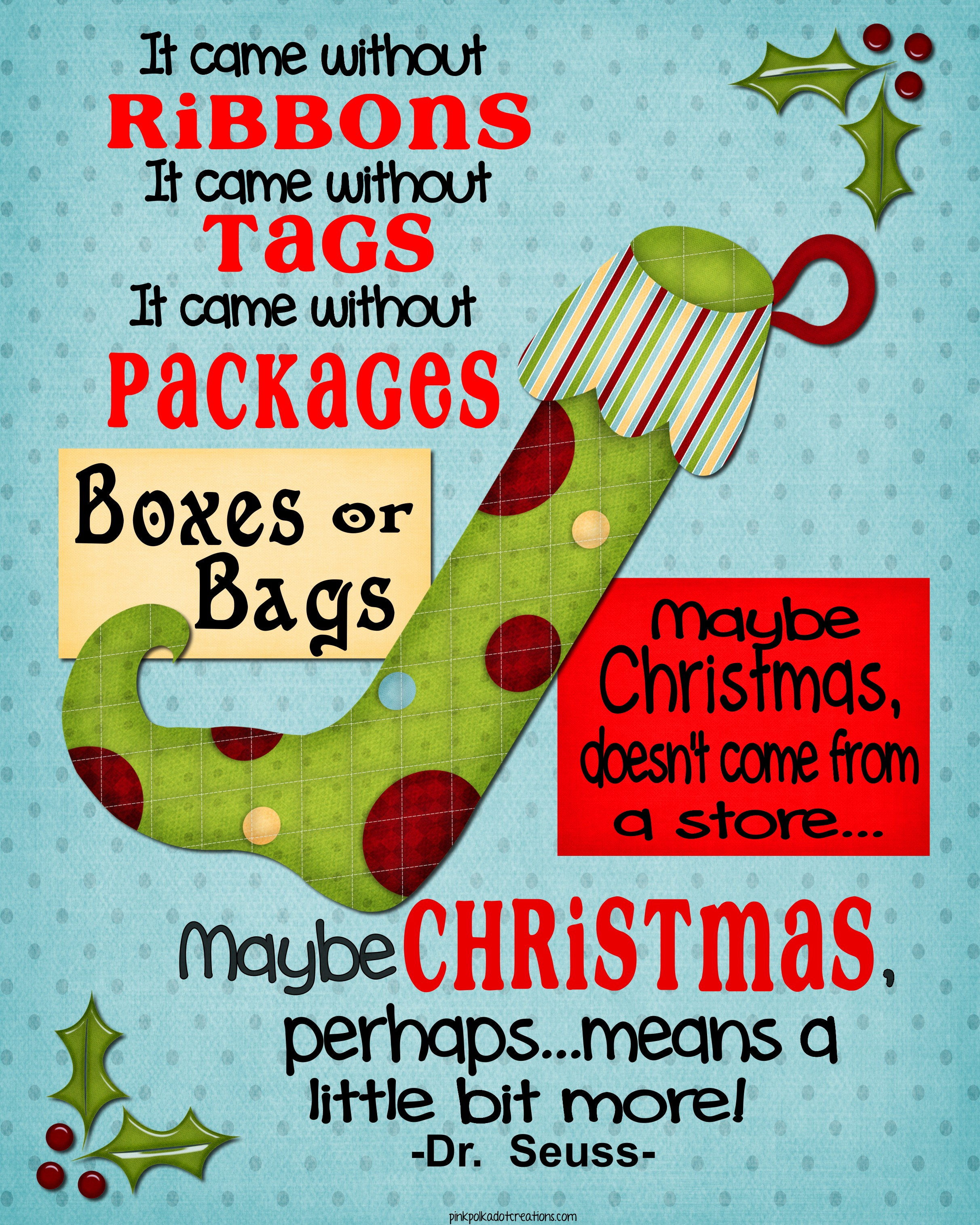 Funny Christmas Party Quotes And Sayings: Whimsical Christmas Frame And Free Printables!