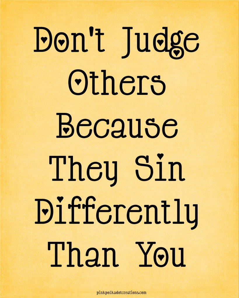 Thoughts-010-Don't-judge-others