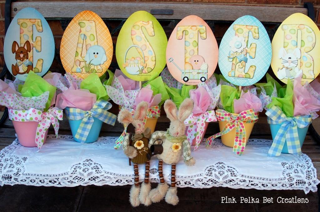 Printable Easter Pots