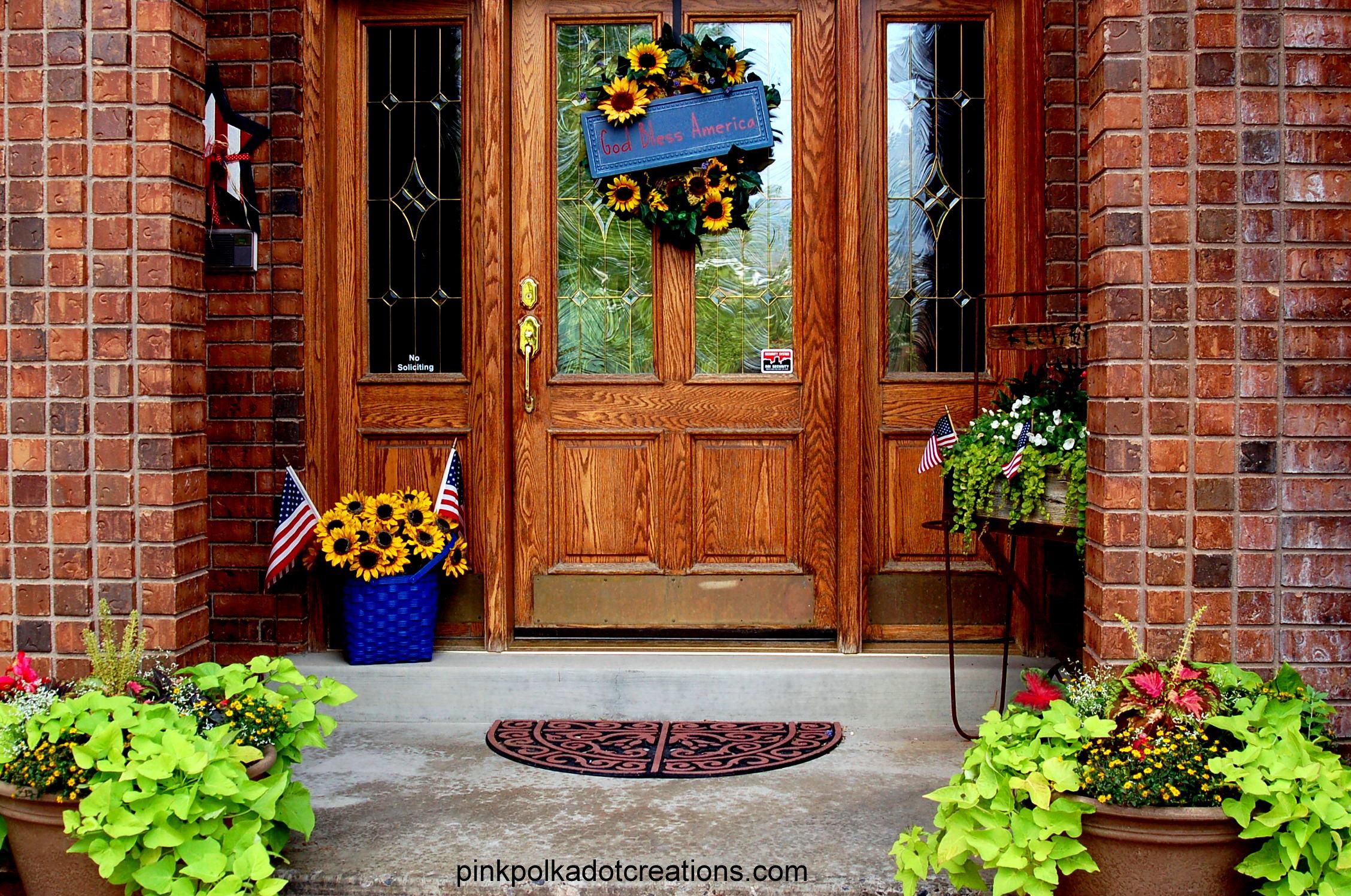 summer porch - pink polka dot creations