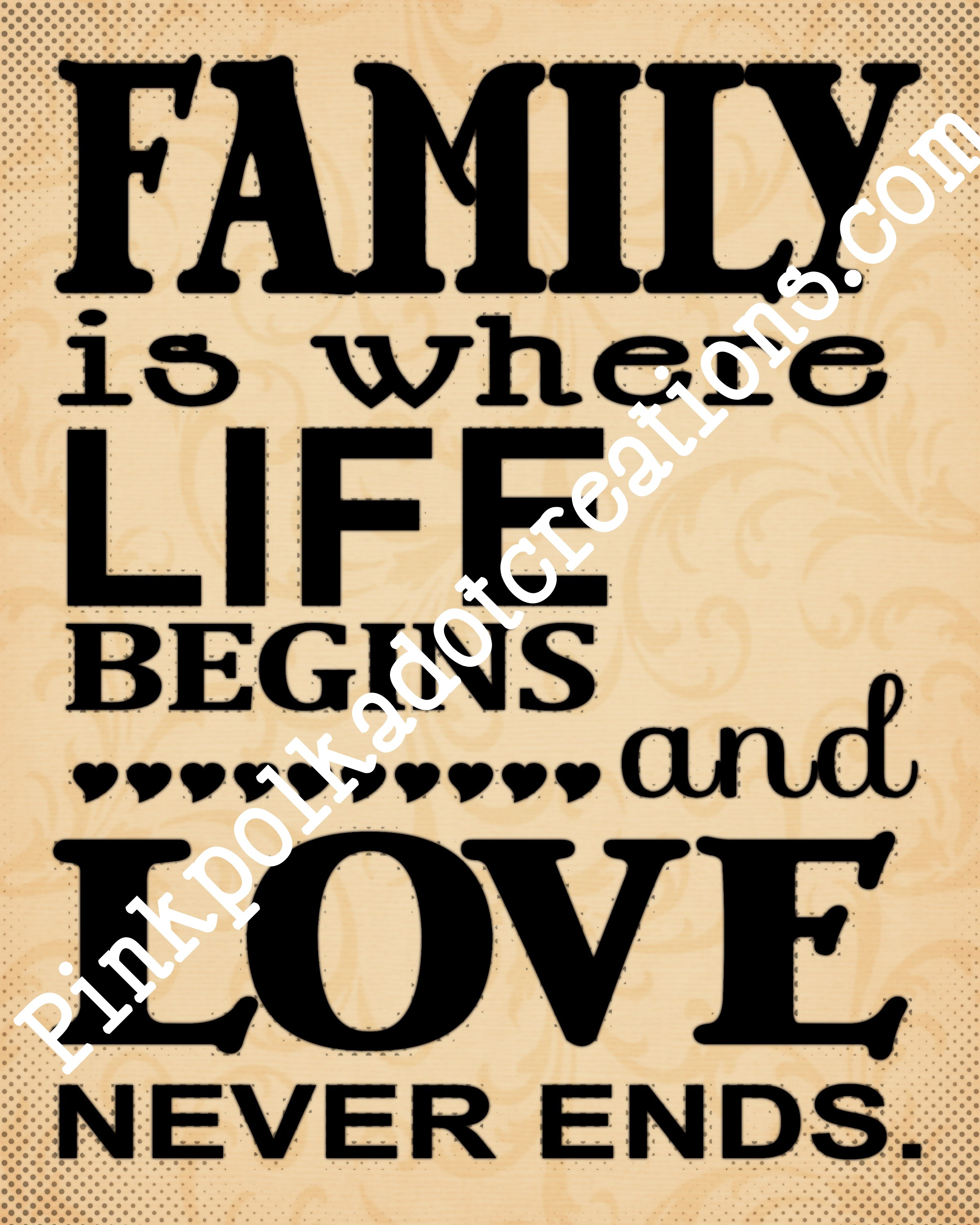 Family Life Quotes Family Quote Archives  Pink Polka Dot Creations