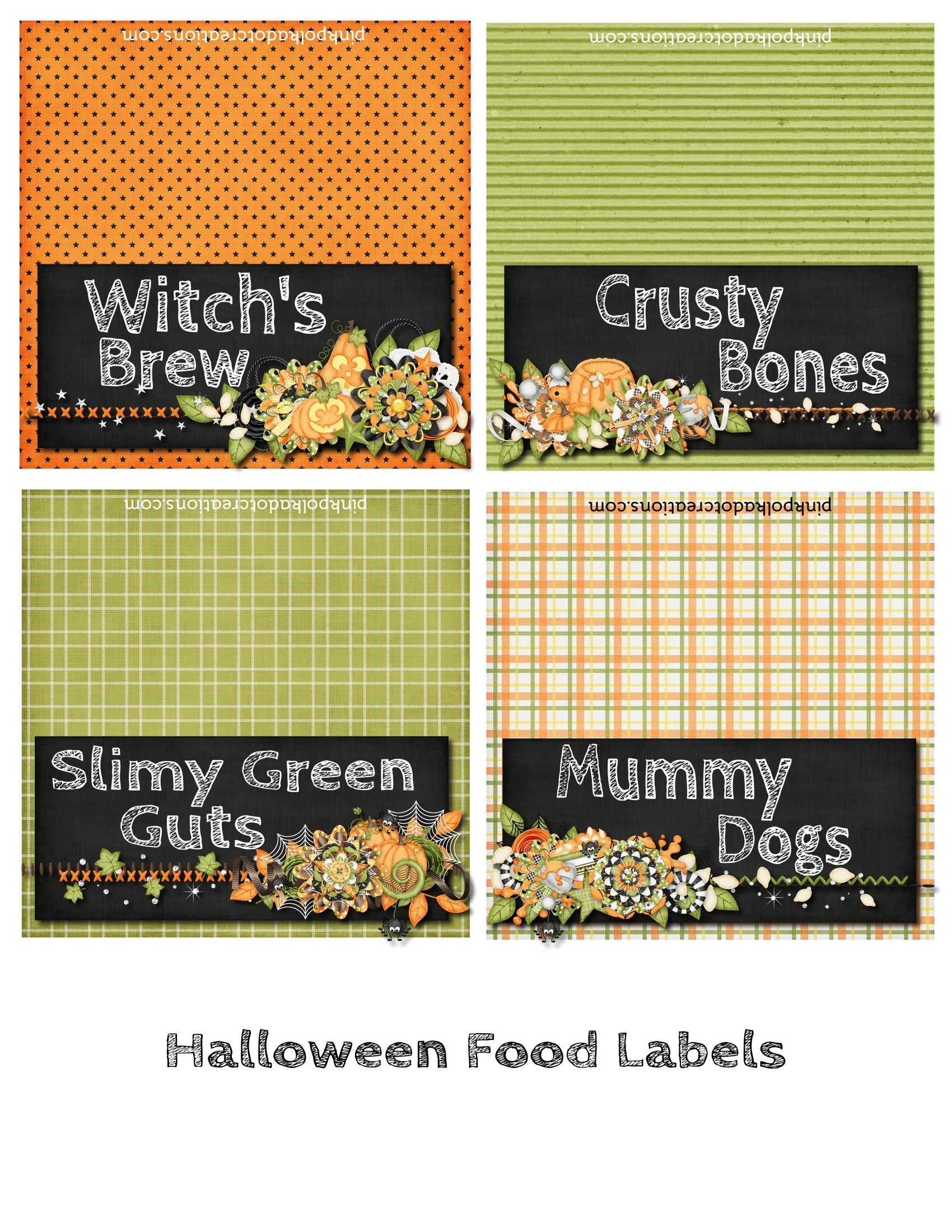 """FREE PRINTABLES: A """"Frightfully"""" Delightful Halloween ... 