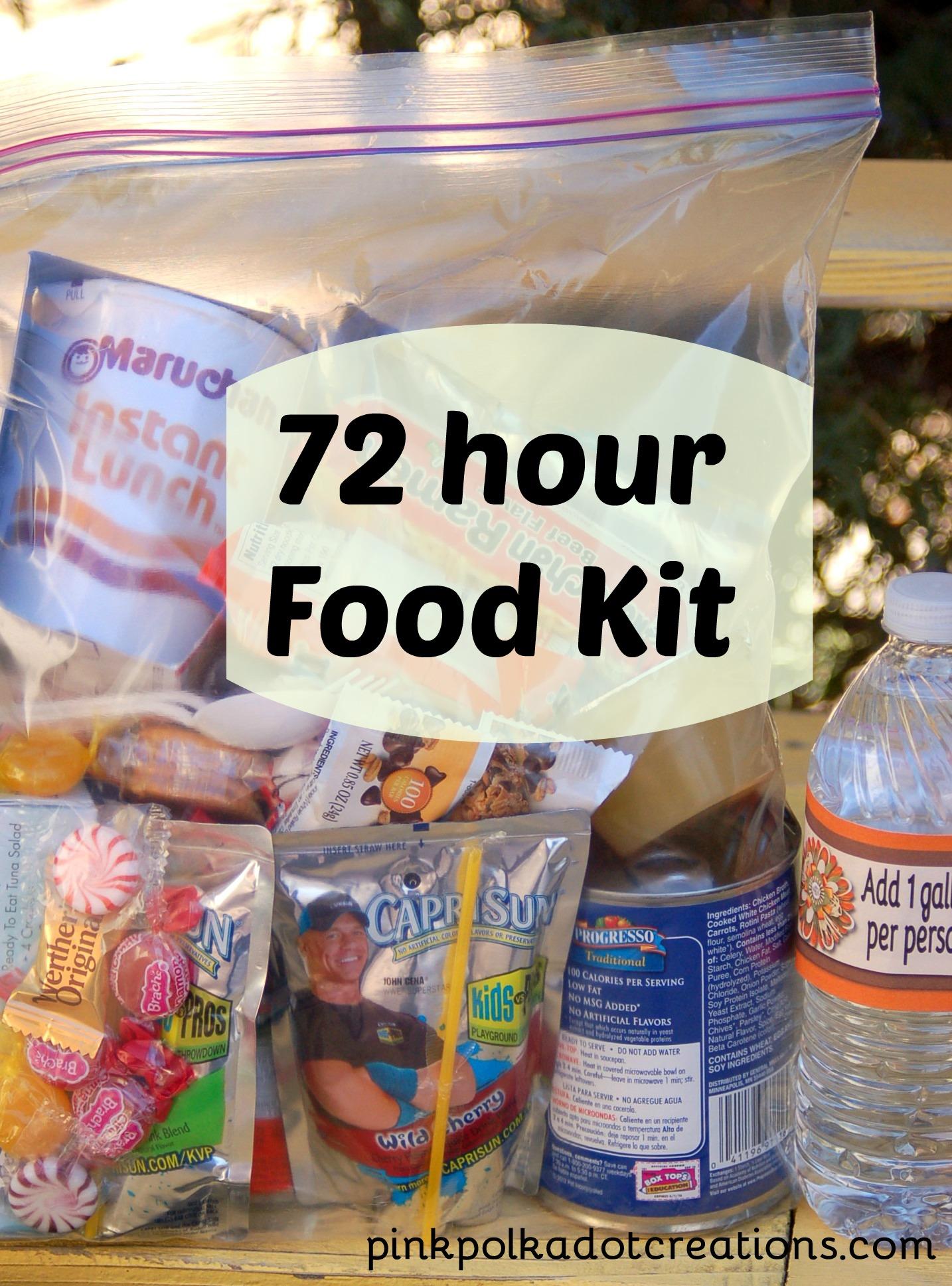 Best food for emergency bag