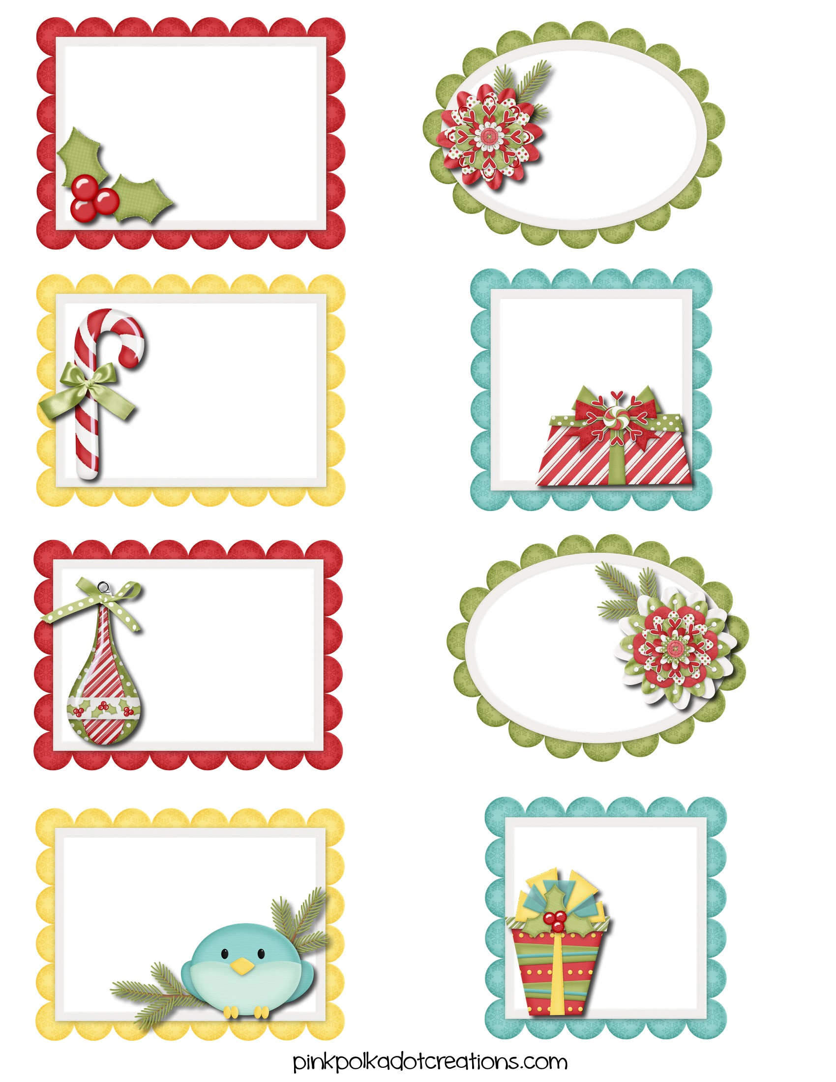 It's just a photo of Canny Free Printable Christmas Stickers