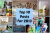 Top 2013 posts