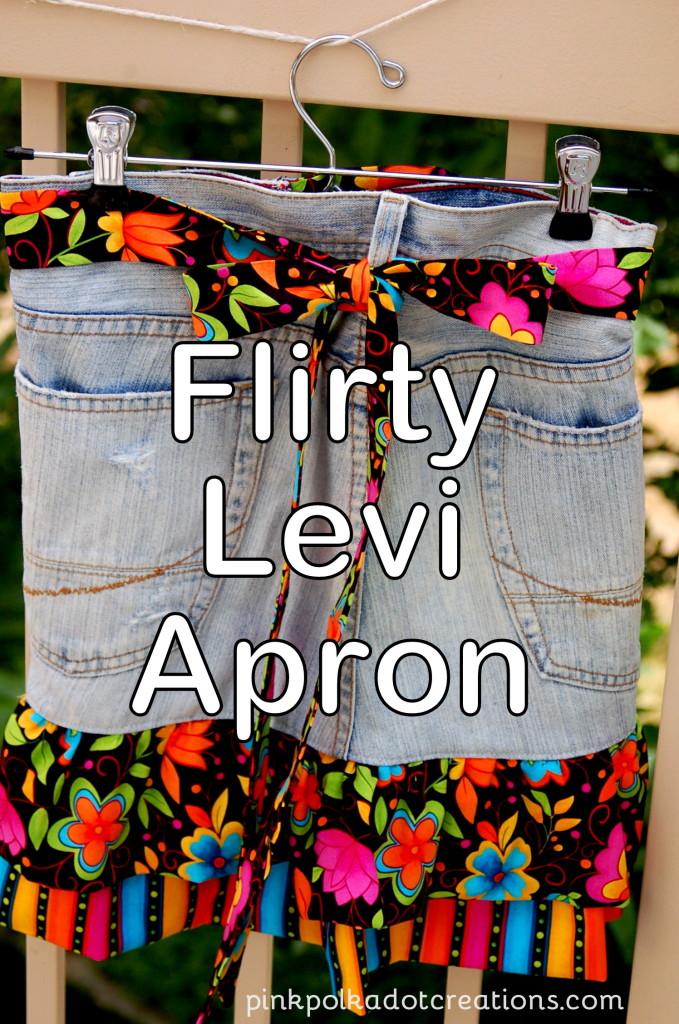 Flirty Levi Apron
