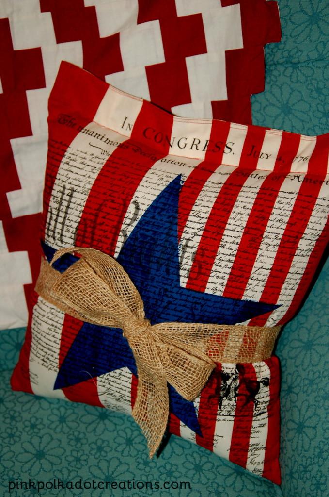 Americana Pillow