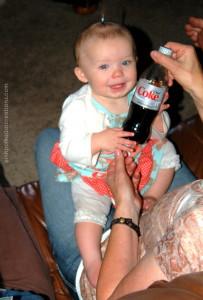 diet coke baby