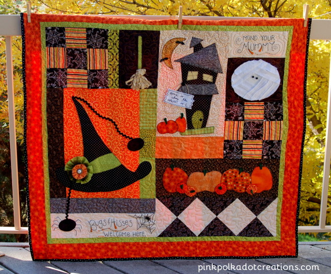 Halloween Table Quilt