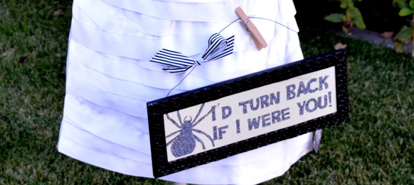 I'd turn back sign