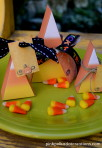 Candy Corn Boxes with Tags