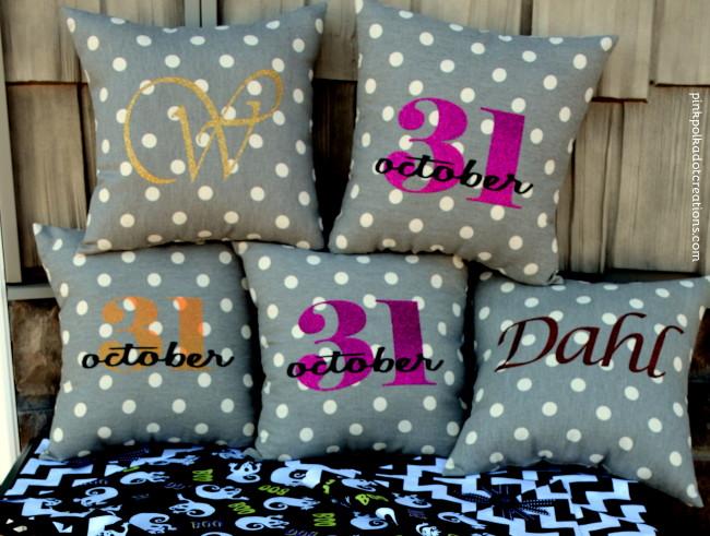 iron-on pillows