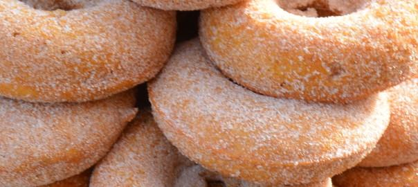 pumpkin cake donuts