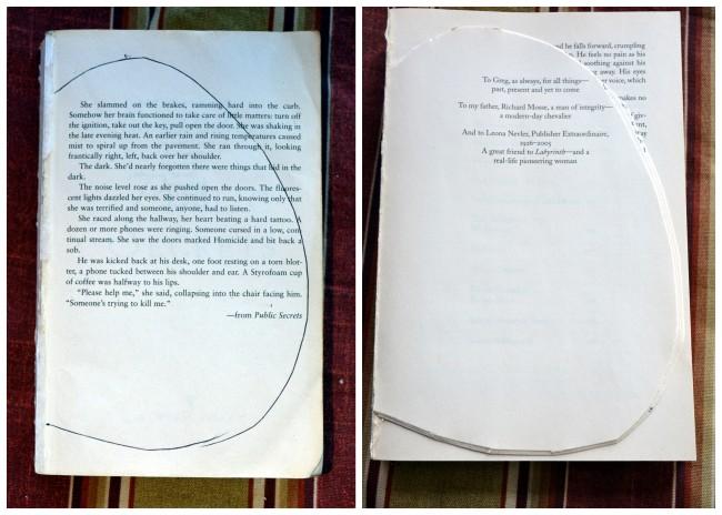 how to make paperback book pumpkins