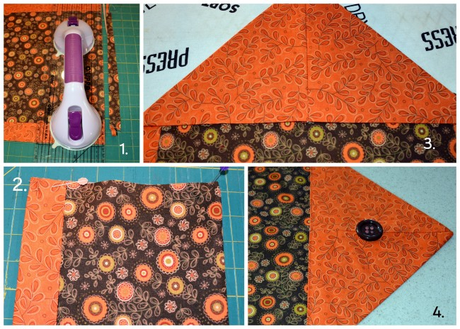 Easy to sew Fall Table Runner