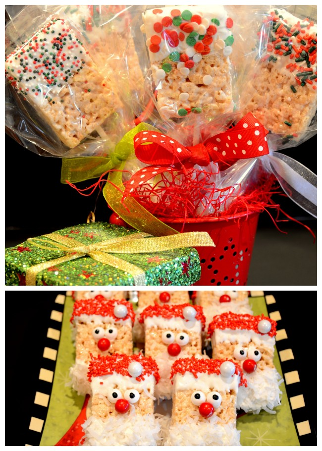 Christmas Rice Crispie Treats-001