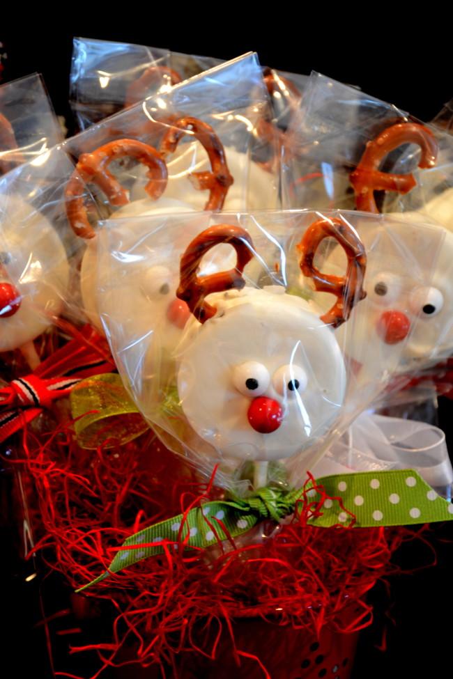 Easy Christmas Oreo Treats Pink Polka Dot Creations