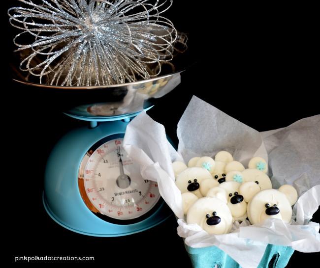 Oreo Polar Bear Cookies