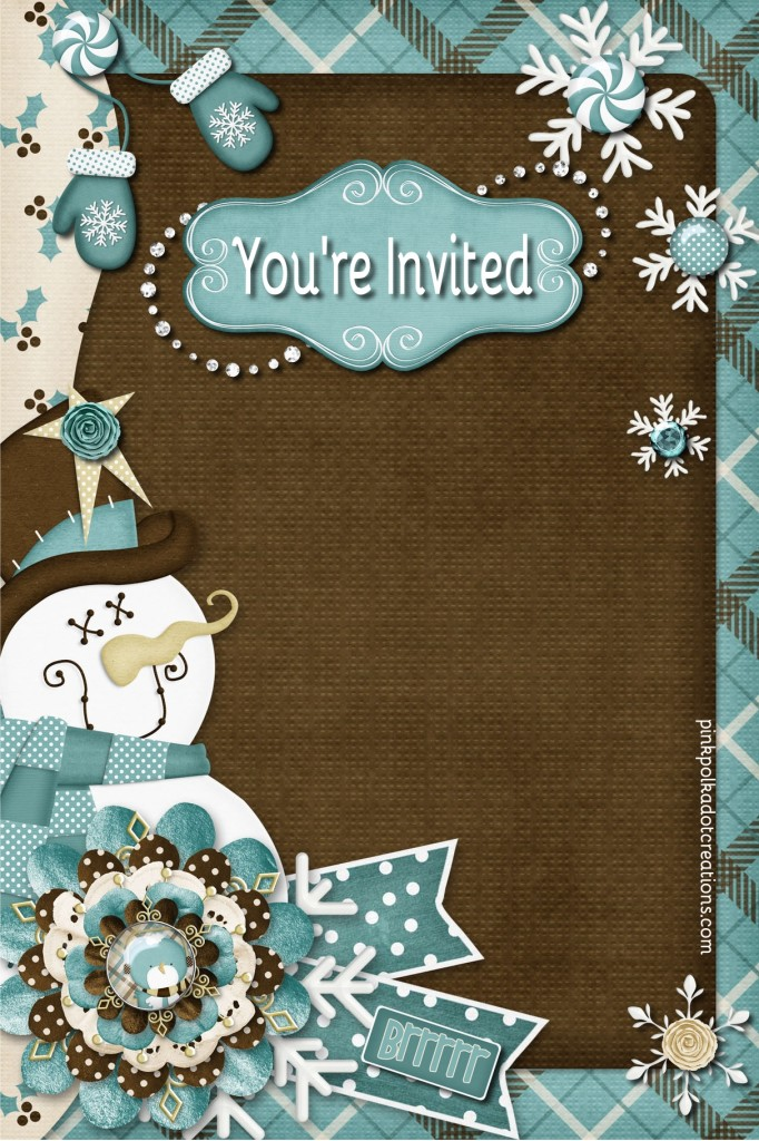 winter invitation