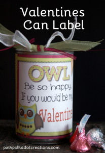 Owl Valentine can