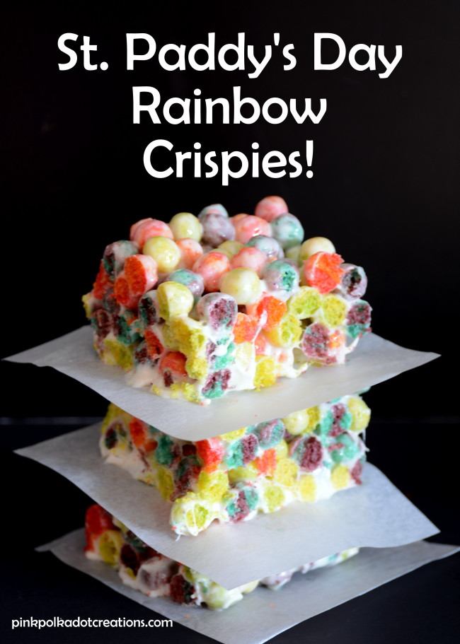 Rainbow Crispies
