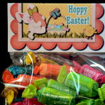 "Cute ""Hoppy Easter"" Bag Topper"