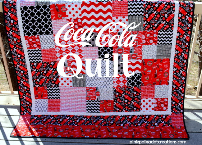 Coke quilt