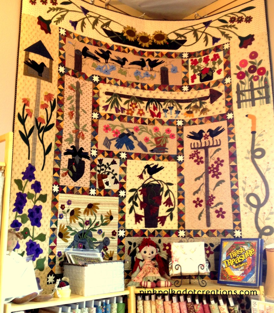 A Primitive Garden Quilt Kit