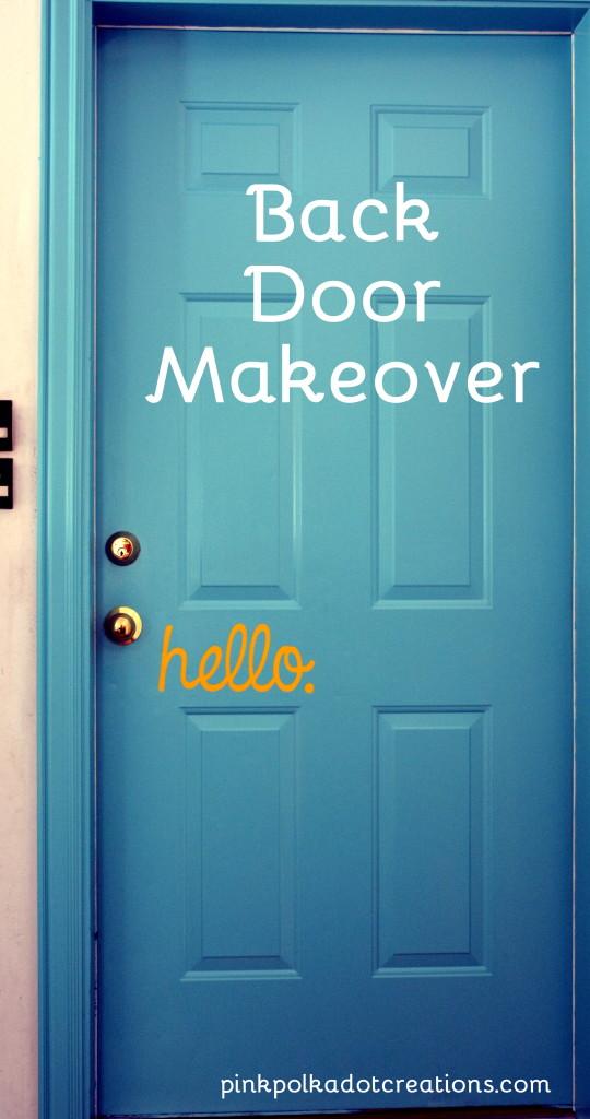 back door makeover