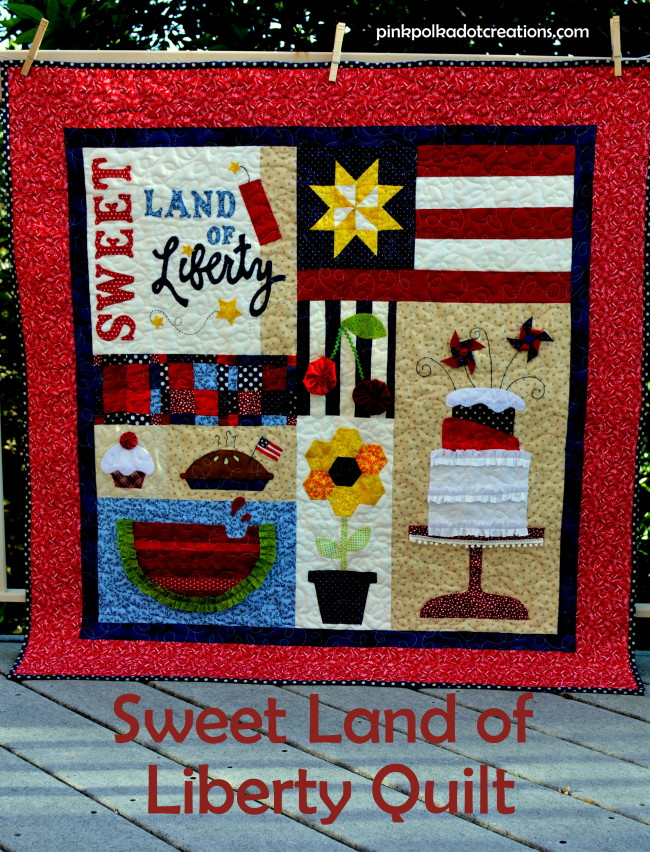 sweet land of liberty quilt