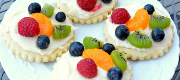 fruit pizzas