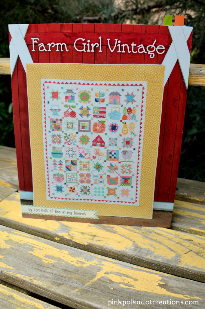 Farm Girl Vintage quilt book