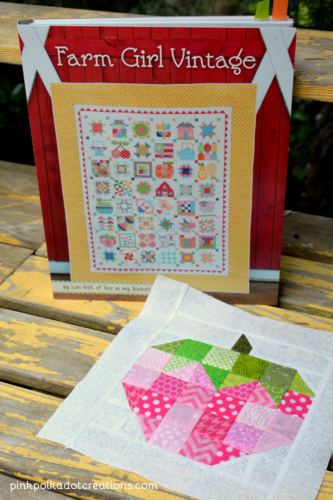 Farm Girl Vintage quilt book
