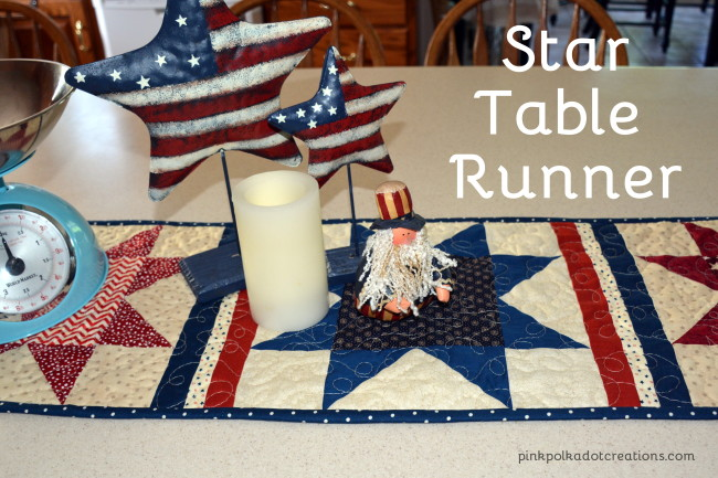 star table runner