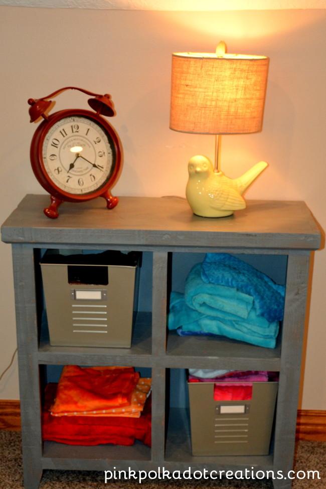 sewing room cupboard