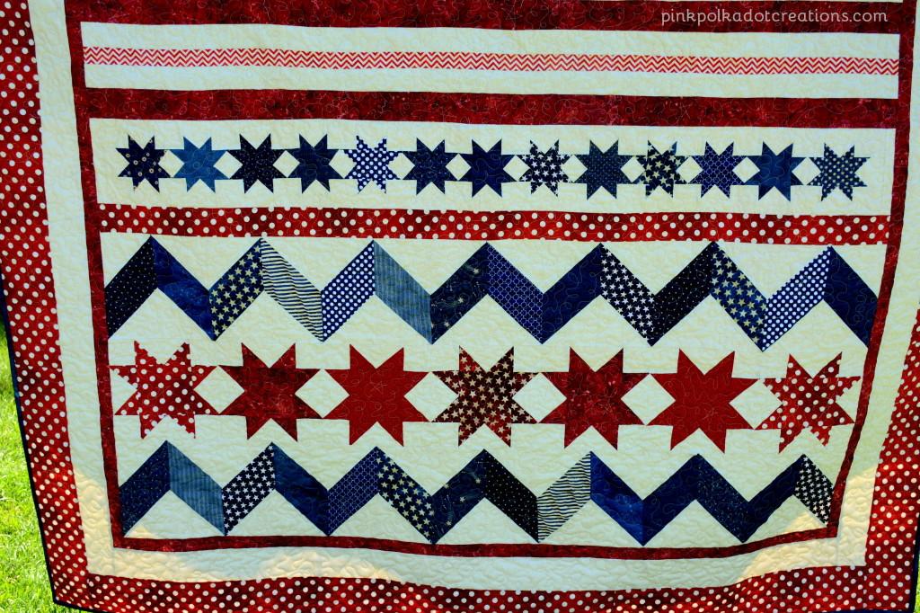 Americana quilt