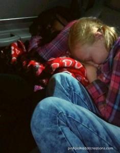 tired girls