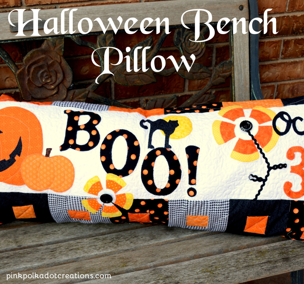 Halloween Bench Pillow