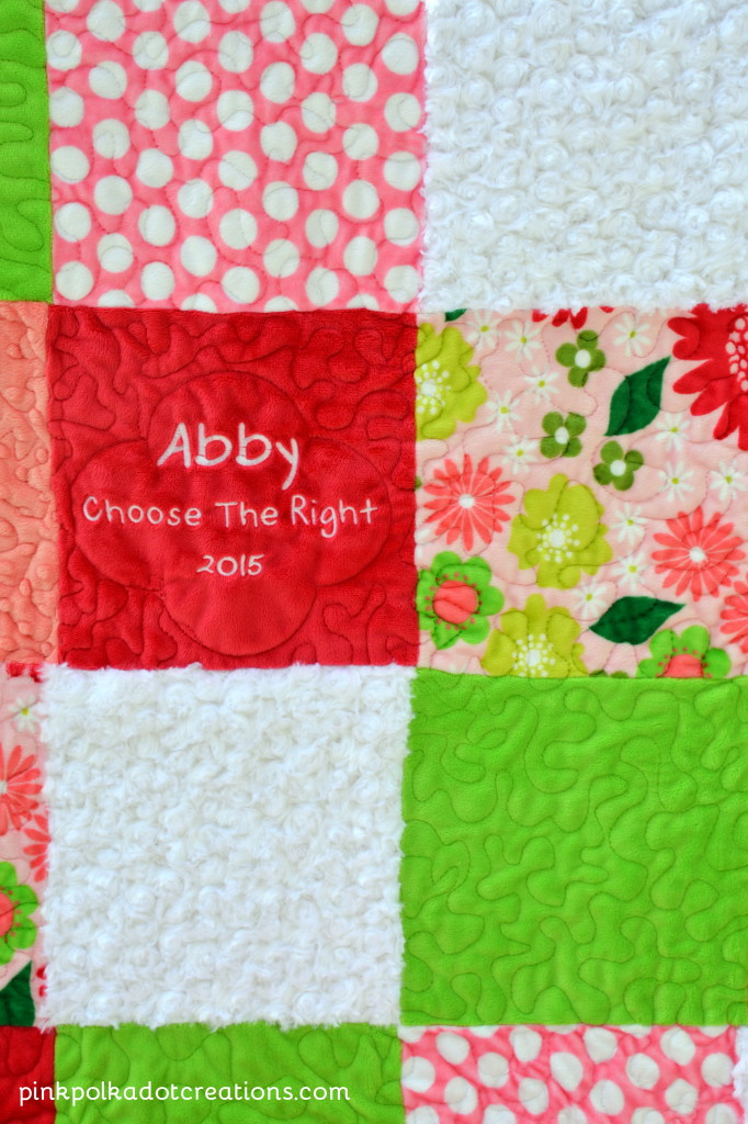 Abby's Baptism Quilt