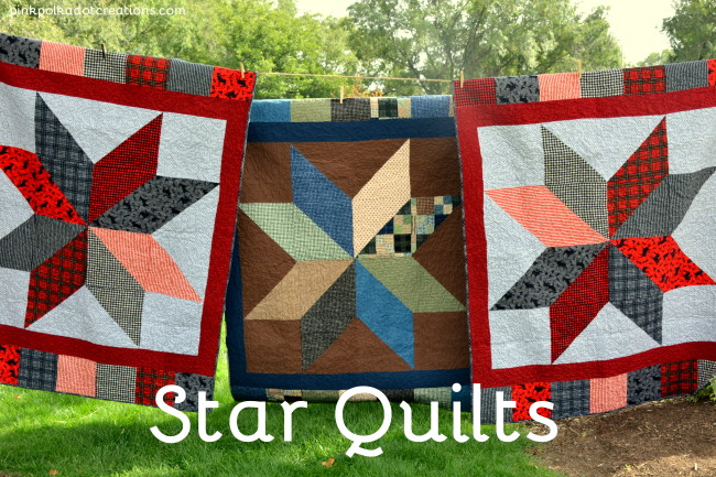 3 star quilts