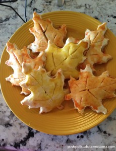 leaf hand-held pies