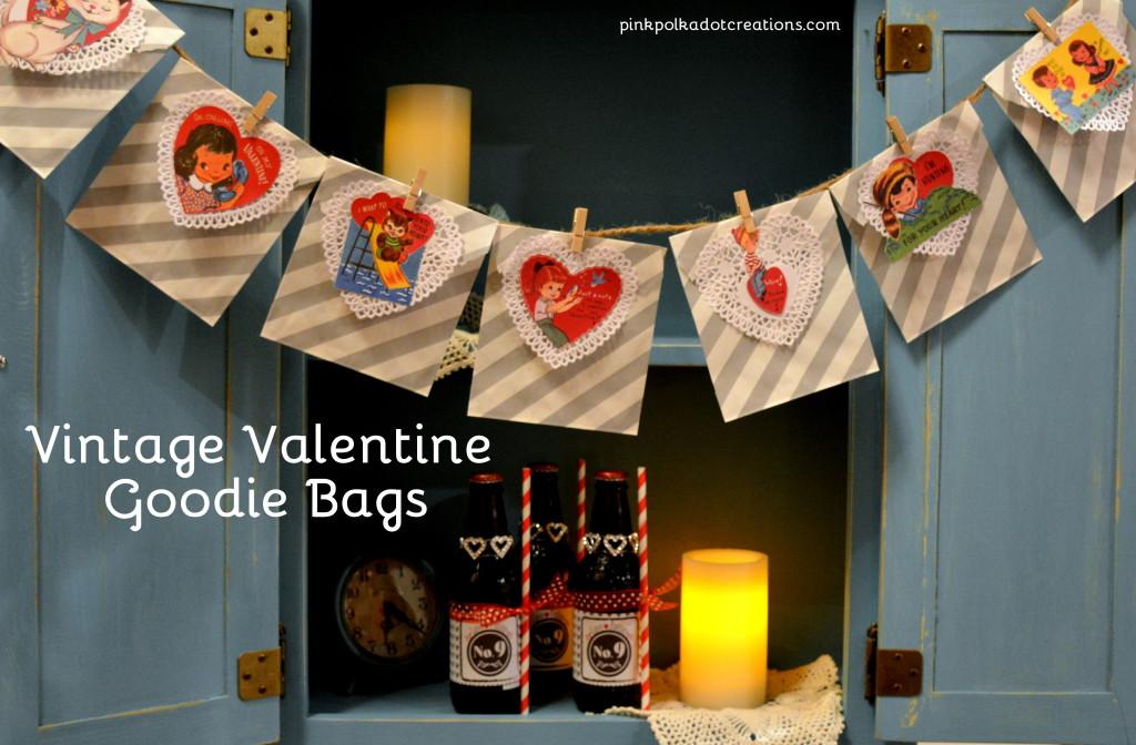 vintage valentine bags