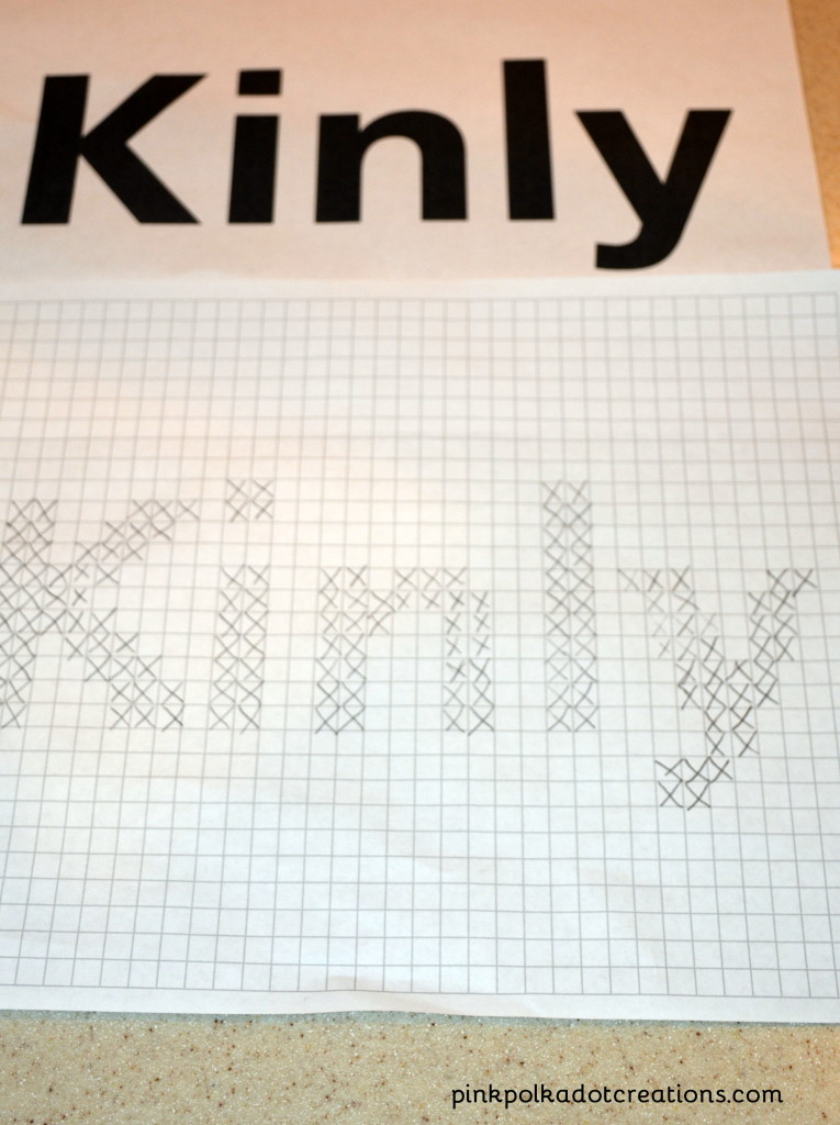 beginning cross stitch