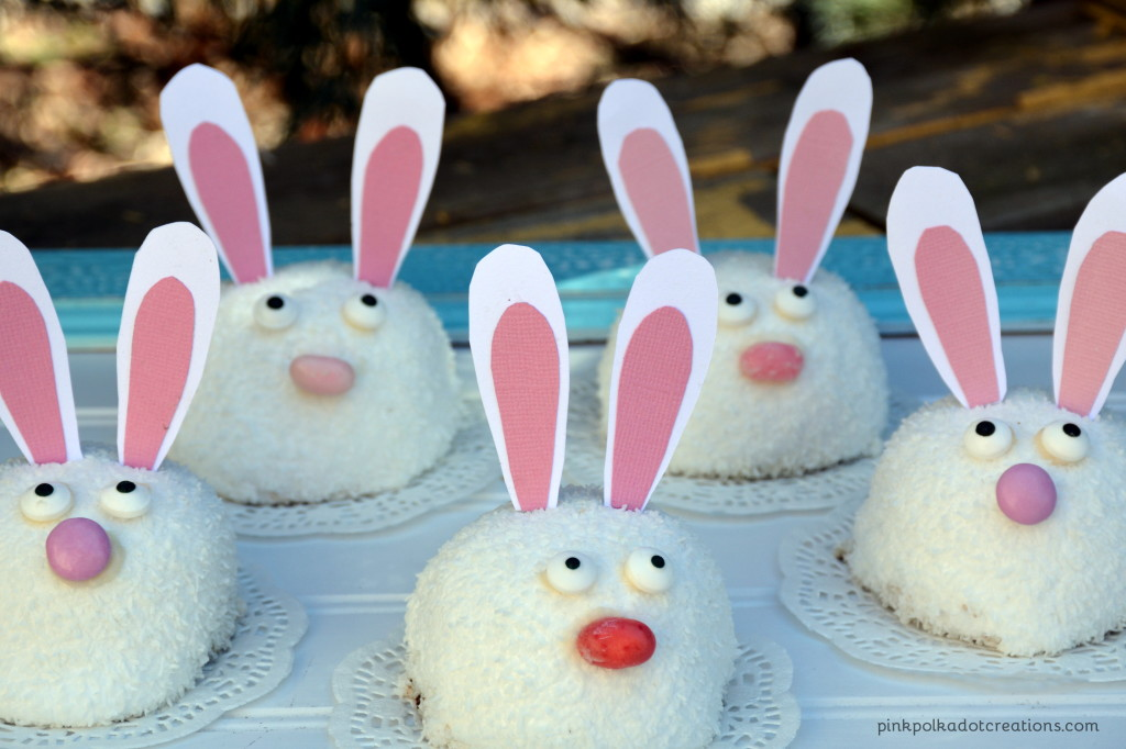 snowball Easter bunnies