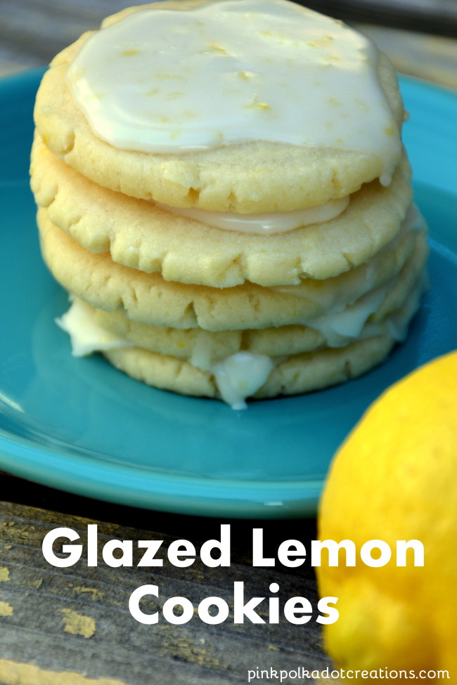 These Glazed Lemon Cookies are the perfect spring time treat! They are ...
