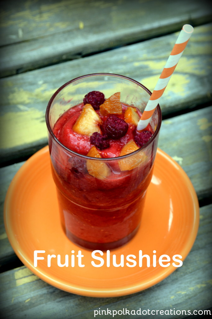 fruit slushies